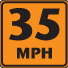 35 mph